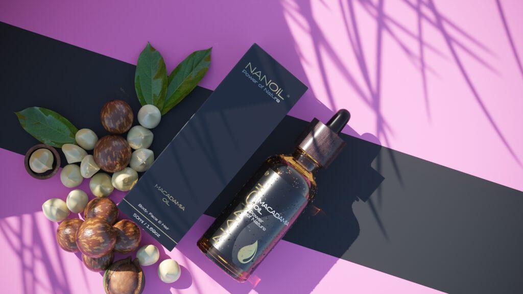 Nanoil Macadamiaöl zur Haarpflege